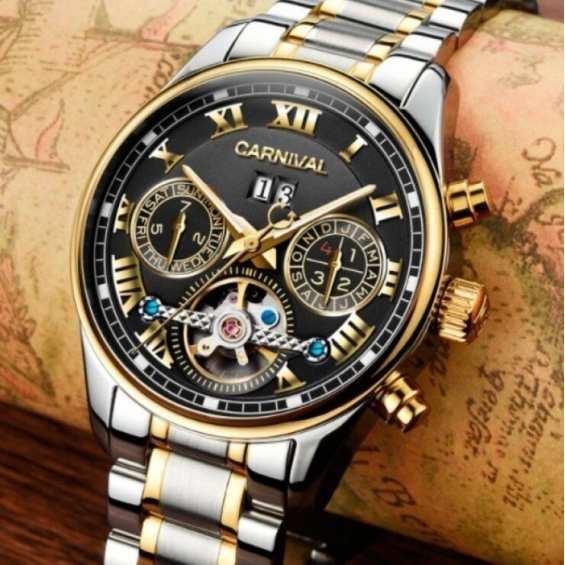 Наручные часы  Carnival Sappfire Silver