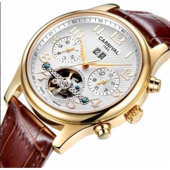 Часы Carnival Swiss Brown