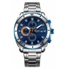 Часы Megir Silver Blue