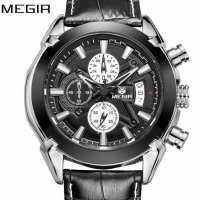 Часы Megir 2020 Montre Dark