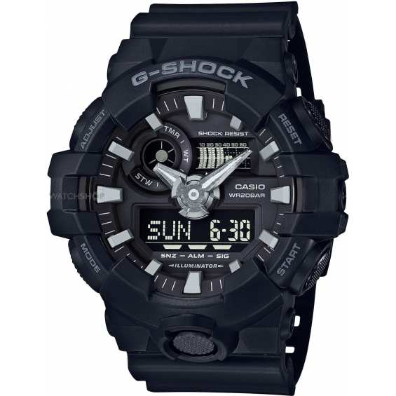 Часы Casio G-SHOCK GA-700-1BER
