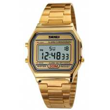 Часы Skmei 1123 Popular Gold