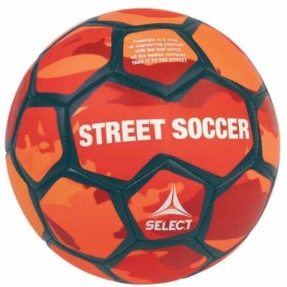Мяч SELECT Street Soccer New (Red)