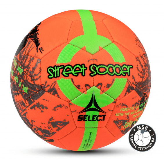 Мяч SELECT Street Soccer (Red)