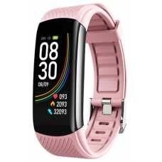 Фитнес браслет Smart C-6 Termometr Pink