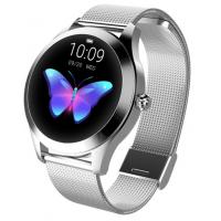 Женские умные часы KW10 Silver