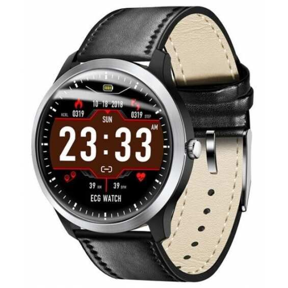 Умные часы ECG Watch N58 Prime Black