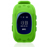 Детские часы Q50 Green с GPS