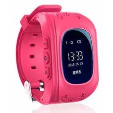 Детские часы Q50 Pink с GPS