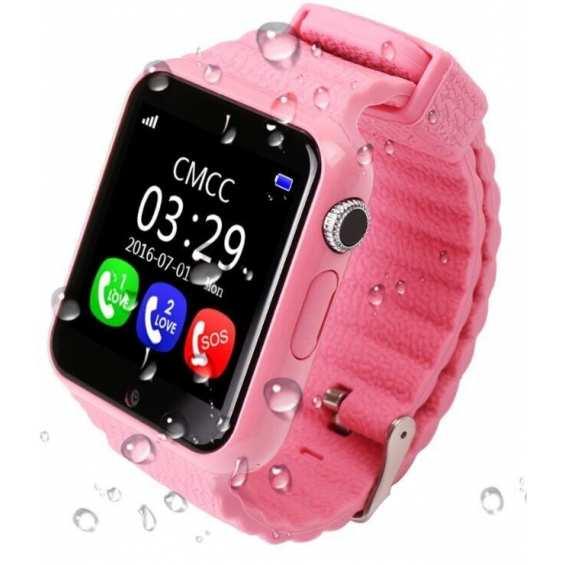 Детские часы V7K Pink с GPS