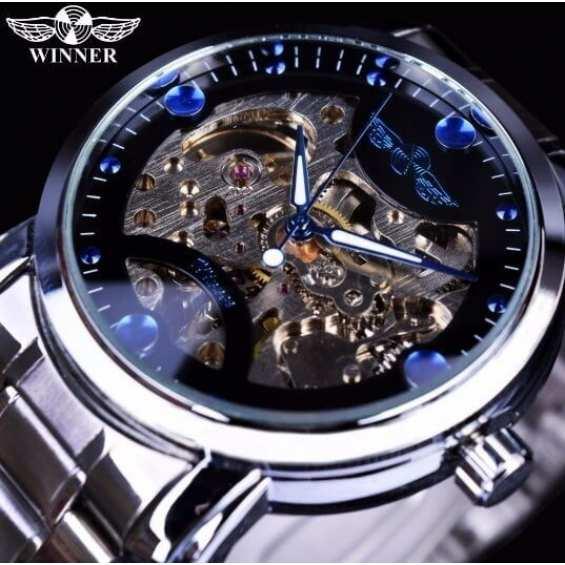Наручные часы  Winner Steel Blue