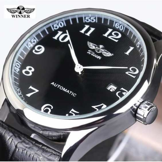 Часы Winner Lux Black