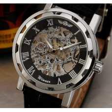 Часы Winner Silver&Black