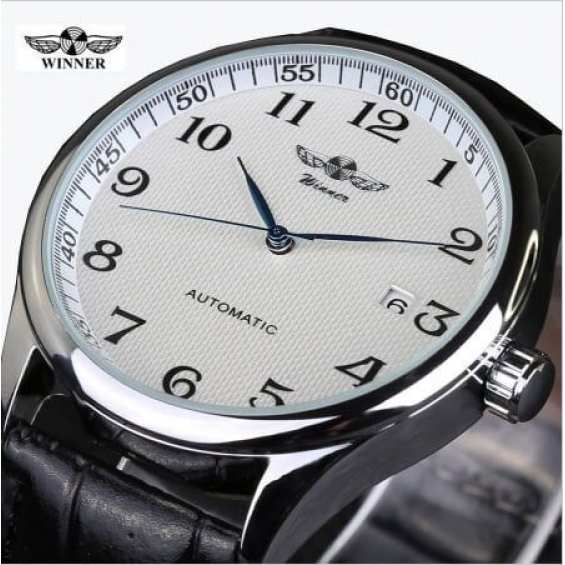 Часы Winner Lux White