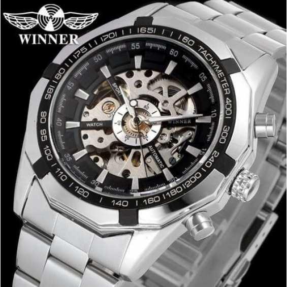 Наручные часы  Winner Steel Skelet