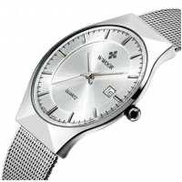 Часы Wwoor Slim Silver