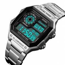 Мужские часы Skmei Ripple Silver 1335S