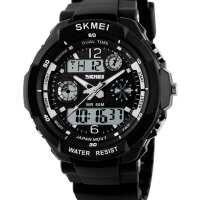 Мужские часы Skmei S-Shock Black 0931B