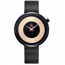 Женские часы Shengke Kuba Black