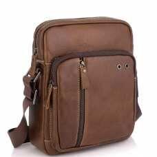 Коричневая мужская сумка через плечо Tiding Bag N2-0013B