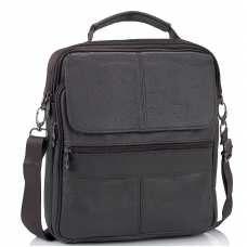 Кожаный мужской мессенджер HD Leather NM24-110C