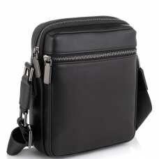 Мужская сумка через плечо черная Tiding Bag SM8-2156A