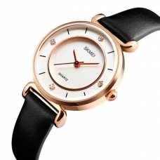 Женские часы Skmei Batterfly White 1330G
