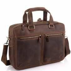 Сумка для ноутбука в винтажном стиле мужская Tiding Bag D4-001R