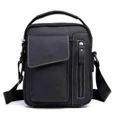 Мужской кожаный мессенджер через плечо Tiding Bag A25F-90119A