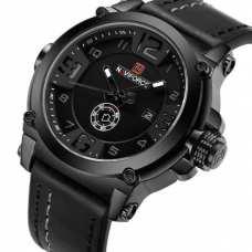 Мужские часы Naviforce Plaza Black NF9099