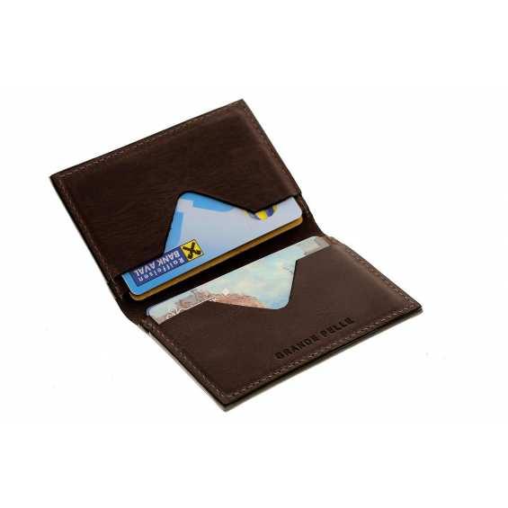 Картхолдер Grande Pelle Cartolina (шоколад)