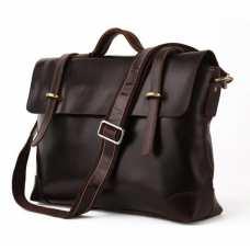 Мужской кожаный портфель TIDING BAG 7082C