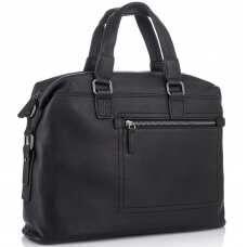 Мужская деловая кожаная сумка Tiding Bag SM8-002A