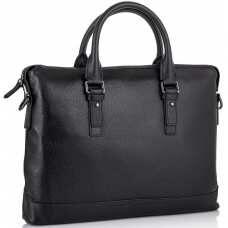 Классическая мужская кожаная сумка для ноутбука и документов Tiding Bag SM8-9606-3A