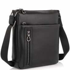Кожаная сумка-мессенджер через плечо Tiding Bag SM8-17629A