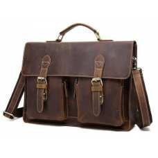 Мужской кожаный портфель BEXHILL BX1061C