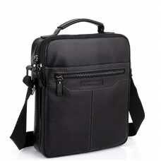 Мужская черная сумка через плечо Allan Marco RR-4083A