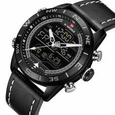 Мужские часы Naviforce Strike Black