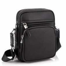 Кожаная стильная сумка-мессенджер через плечо Tiding Bag SM8-1022A