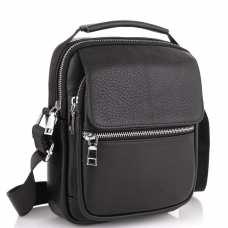 Мужская сумка через плечо кожаная Tiding Bag NM23-2302A