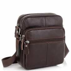 Коричневая мужская сумка Tiding Bag NM20-2610DB