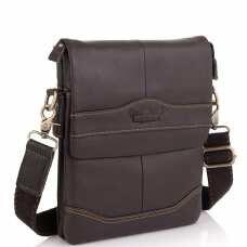 Мужская сумка через плечо кожаная Ruff Ryder RR-3863B