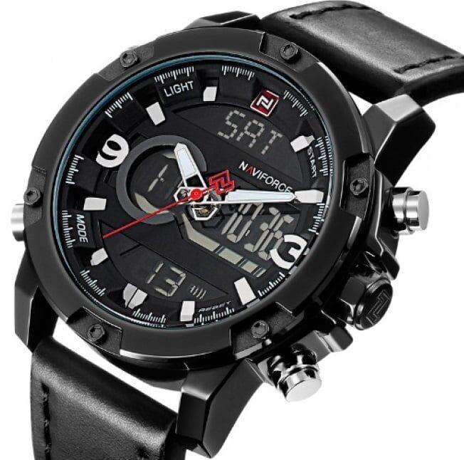 Часы Naviforce Kosmos Black d44664af28c50