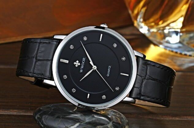 Ультратонкие мужские часы - YouTube