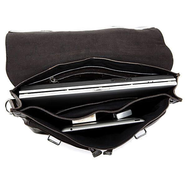 1df0e168e613 ᐉ Купить Мужской кожаный портфель TIDING BAG 6057J в Киеве по цене ...